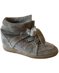 Isabel Marant Bobby Trainers - Brown