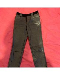 Louis Vuitton Slim Jeans - Metallic