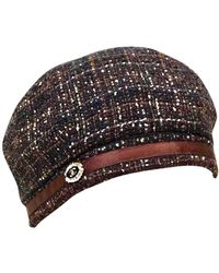 Chanel Brown Wool Hat