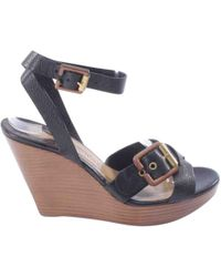 Chloé - Pre-owned Leather Sandals - Lyst