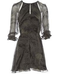 Thakoon Addition Black Silk Dress