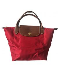 Longchamp Sac à main Pliage - Rouge