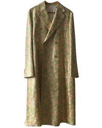CALVIN KLEIN 205W39NYC Silk Coat - Multicolor