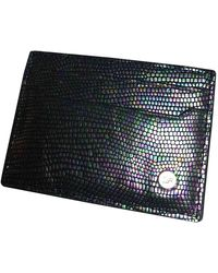 Diane von Furstenberg Leather Card Wallet - Multicolor