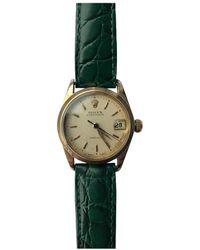 Rolex Datejust 31mm Gelbgold Uhren - Mehrfarbig