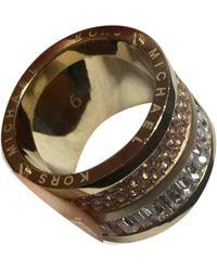 Michael Kors Gold Metal Rings - Metallic