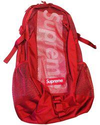 Supreme Cloth Travel Bag - Red