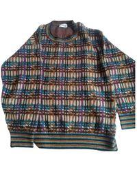 Missoni Wolle Pullover - Blau