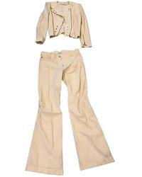 Dior Viscose Jumpsuits - Natural