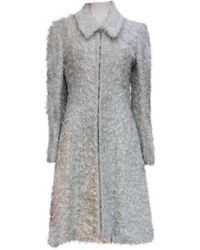 Chanel Silk Coat - Gray