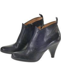 Maison Margiela - Black Leather - Lyst