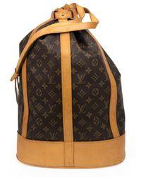 Louis Vuitton Randonnée Cloth Backpack