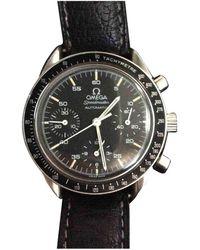 Omega Speedmaster reduced Uhren - Schwarz