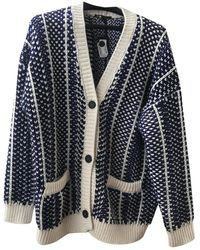 Maje Fall Winter 2019 Wool Cardigan - Blue