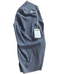 Jil Sander Blue Cotton Top