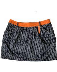 Dior Mini Skirt - Orange