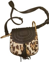 Chloé - Pre-owned Hudson Pony-style Calfskin Crossbody Bag - Lyst