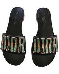 Dior Dio(r)evolution Leder Römersandalen - Schwarz