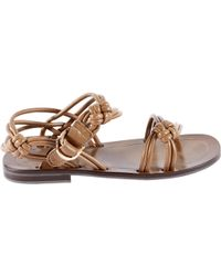Sergio Rossi - Pre-owned Leather Sandals - Lyst