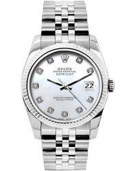 Rolex Lady Datejust 26mm Uhren - Weiß