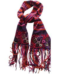 Christian Lacroix Wool Scarf - Multicolor