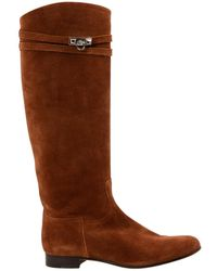 Hermès - Pre-owned Jumping Biker Boots - Lyst