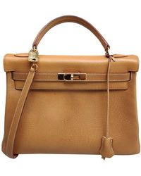 Hermès Kelly 28 Leder Cross body tashe - Mehrfarbig