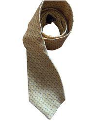 Ferragamo Seide Krawatten - Gelb