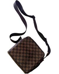 Louis Vuitton Bolsos en lona marrón