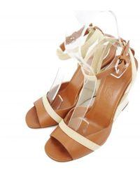 Sandales hermes femme