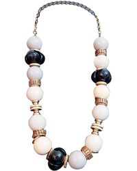 Loewe - Multicolour Metal Long Necklace - Lyst