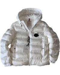 Moncler Hood Daunenjacke - Weiß