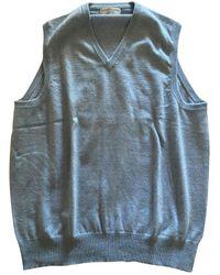 Brunello Cucinelli Cashmere Vest - Blue