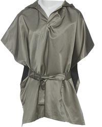 Marni - Grey Viscose Jacket - Lyst