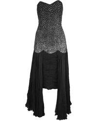Nina Ricci Black Viscose Dress