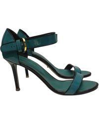 7e4a9f0c1cb Sergio Rossi - Leather Heels - Lyst