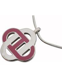 Hermès Other Metal Necklaces - Multicolor