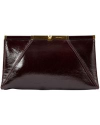 Brian Atwood - Lackleder Clutches - Lyst