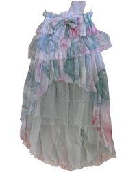 Chanel Vestido de Seda - Multicolor