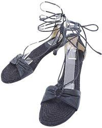 Hermès - Black Leather - Lyst
