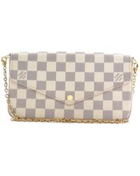 Louis Vuitton Cloth Handbag - Natural