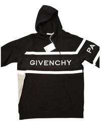 Givenchy Black Cotton Knitwear