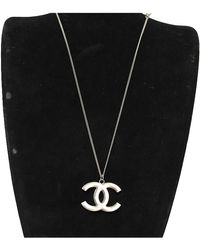 Chanel Cc Necklace - Metallic