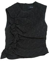 Simone Rocha Camisa en sintético negro