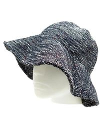 Chanel Sombrero en lana marino - Multicolor