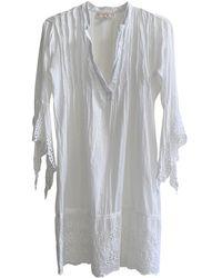 Michael Kors White Cotton Swimwear