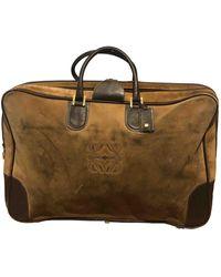 Loewe Amazona Travel Bag - Natural