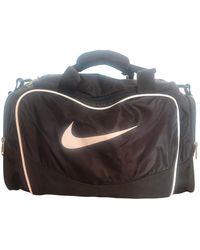 Nike Black Polyester Handbag
