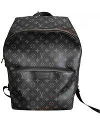 Louis Vuitton Discovery Cloth Bag - Black