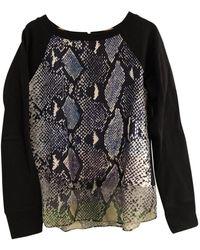Diane von Furstenberg Cotton Knitwear - Black